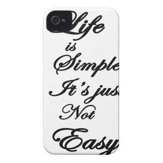 das Leben ist es ist nicht einfach einfach iPhone 4 Hüllen