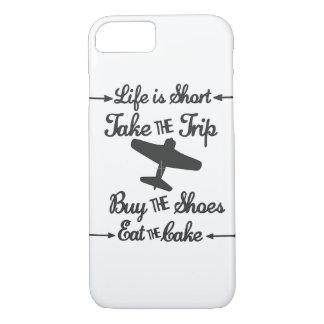 Das Leben ist kurz iPhone 8/7 Hülle