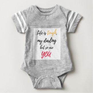 Das Leben ist, Liebling stark Baby Strampler