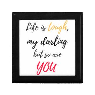 Das Leben ist, Liebling stark Erinnerungskiste