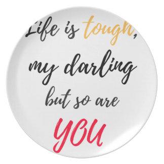 Das Leben ist, Liebling stark Teller