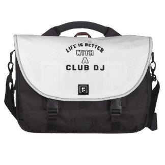 Das Leben ist mit a-Verein DJ besser Laptoptasche