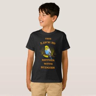 Das Leben ist mit Budgie besser T-Shirt