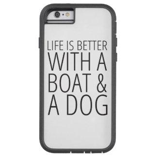 Das Leben ist mit einem Boots-und Tough Xtreme iPhone 6 Hülle