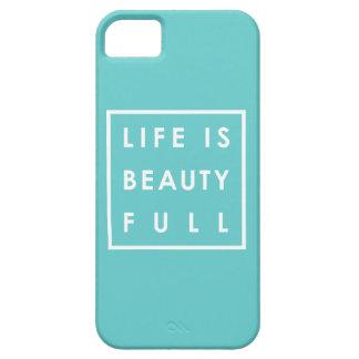 Das Leben ist Schönheit voll 03 Barely There iPhone 5 Hülle