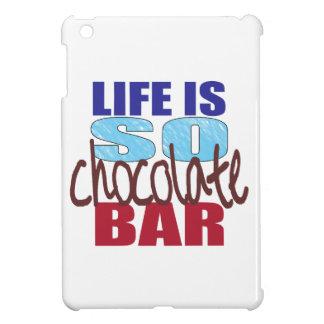 Das Leben ist so Schokoladen-Bar iPad iPad Mini Hülle