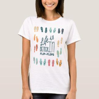 Das Leben ist umdrehen herein Reinfall-Spaß-Shirt T-Shirt