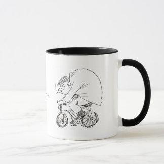 Das Leben ist wie das Fahren Fahrrads Tasse