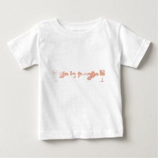 Das Leben ist zerbrechlich Baby T-shirt