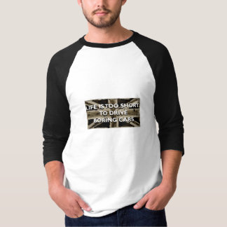 Das Leben ist zu kurz, langweiliges T-Shirt