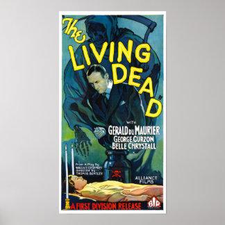 Das Leben tot Poster