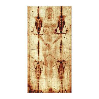 Das Leichentuch von Turin dehnte Leinwand aus Gespannter Galerie Druck