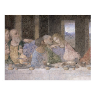 Das letzte Abendessen, 1495-97 3 Postkarte