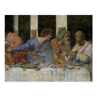 Das letzte Abendessen, 1495-97 Postkarte