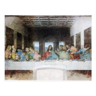 Das letzte Abendessen durch Da Vinci-Postkarte Postkarte