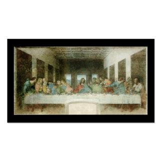 Das letzte Abendessen durch Leonardo da Vinci C Visitenkarten Vorlagen