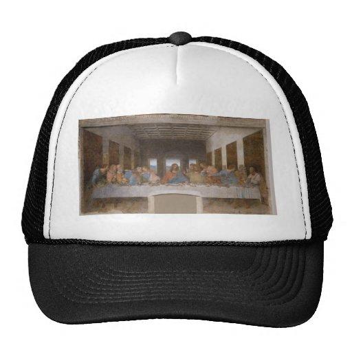 Das letzte Abendessen durch Leonardo da Vinci Kult Cap