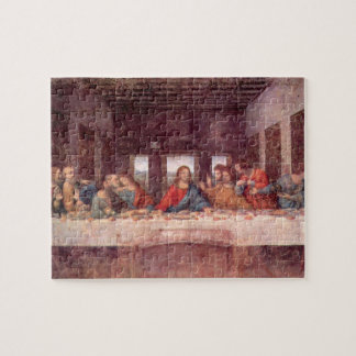 Das letzte Abendessen durch Leonardo da Vinci, Puzzle