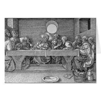 Das letzte Abendessen, Kneipe. 1523 Karte
