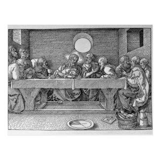 Das letzte Abendessen, Kneipe. 1523 Postkarte