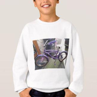 das letzte Fahrrad stehend Sweatshirt
