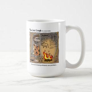Das letzte Lachen - Cavebook Kaffeetasse
