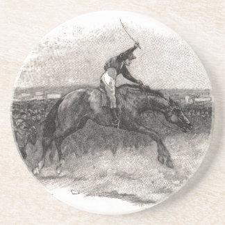 Das letzte Pferd Getränkeuntersetzer