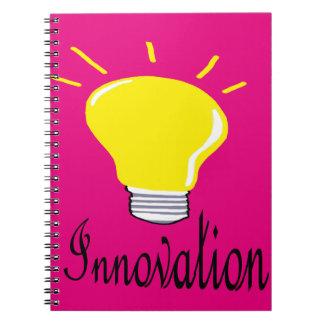 das Licht der Innovation Notizblock
