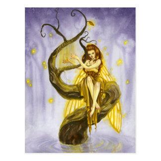 Das Lied-Postkarte des Leuchtkäfers Postkarte