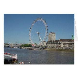 Das London-Auge Karte