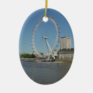 Das London-Auge Keramik Ornament