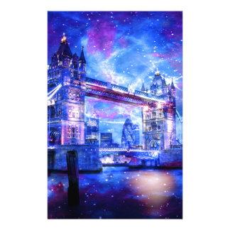 Das London-Träume des Liebhabers Briefpapier
