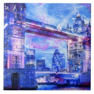 Das London-Träume des Liebhabers Keramikfliese
