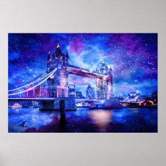 Das London-Träume des Liebhabers Poster