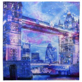 Das London-Träume des Liebhabers Serviette