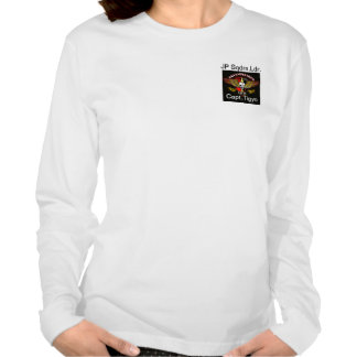 Das longT der Qualitätsfrau mit Namen, Rang, Logo T Shirts