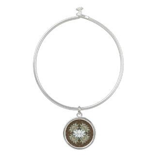 Das Lotus-Armband-Armband Armreif