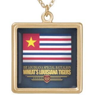 Das Louisiana-Tiger des Weizens Vergoldete Kette