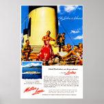 Das Lurline ist Hawaii Plakate