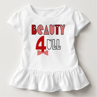 Das lustige 4-jährige T-Shirt HQH des Mädchens