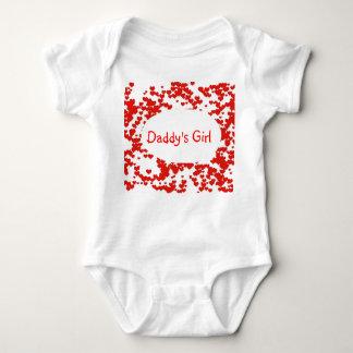 Das Mädchen-Baby-Bodysuit des Vatis Tshirt