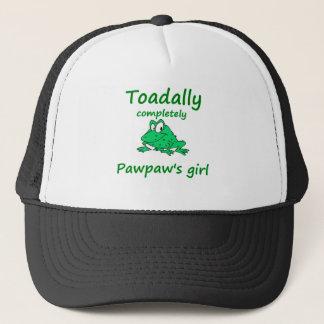 das Mädchen der Papaya Truckerkappe