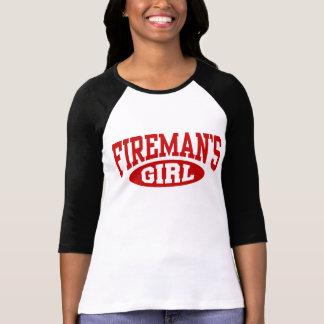 Das Mädchen des Feuerwehrmannes T-Shirt