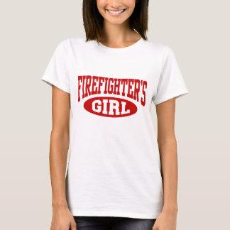 Das Mädchen des Feuerwehrmanns T-Shirt
