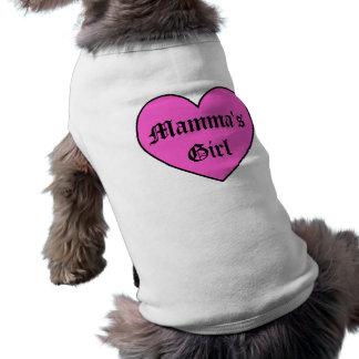 Das Mädchen-Haustier-Kleid Pinkmammas Shirt