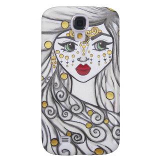 Das Mädchen und die goldenen Perlen Galaxy S4 Hülle