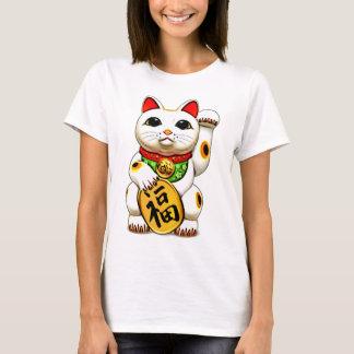 Das maneki-neko, 招き猫, glückliche Katze T-Shirt