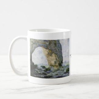 Das Manneporte durch Claude Monet Kaffeetasse