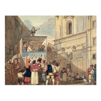 Das Marionetten-Theater Postkarten