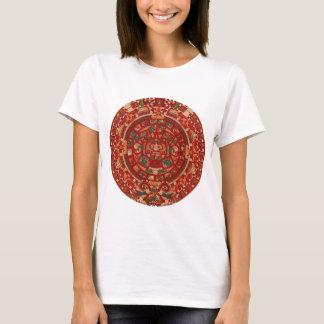 Das Maya-/(aztekische) Kalenderrad T-Shirt